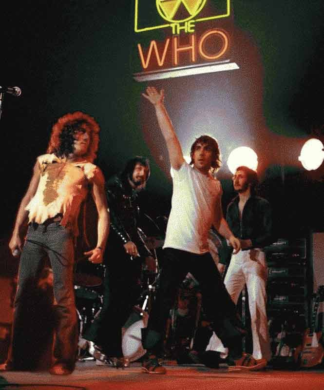 The Who Onstage, Boston Garden, 1973