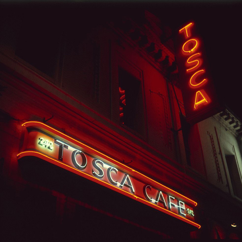 San Francisco Neon Series, Tosca Cafe, 1980