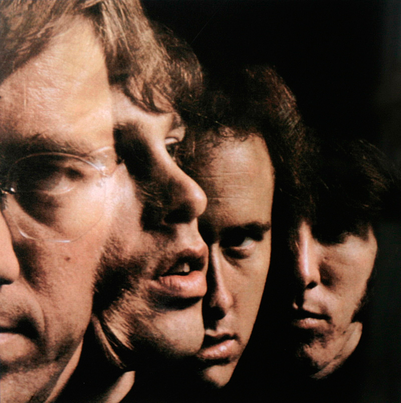 The Doors - Quad, The Doors Album Back Cover, 1967