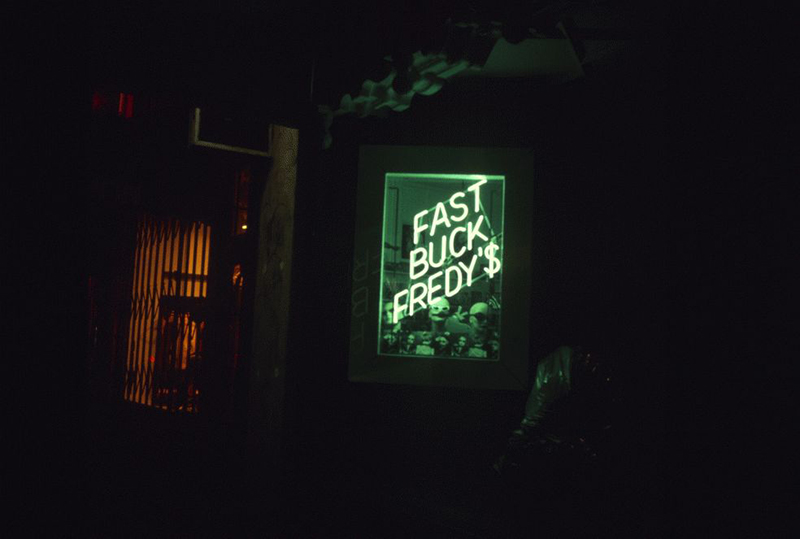 San Francisco Neon Series, Fast Buck Fredy'$, 1980