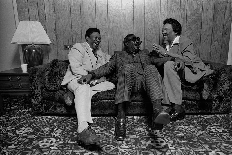 BB King, Albert King and Bobby Bland, Redwood City, CA, c. 1980s